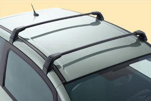 PEUGEOT 1007 ROOF BARS [Fits all 1007 models] 1.4 1.6 & HDI GENUINE PEUGEOT Thumbnail 1
