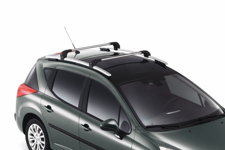 PEUGEOT 207 ROOF RAIL CROSS BARS [SW] SPORTS WAGON GENUINE PEUGEOT ACCESSORY!