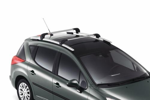 PEUGEOT 207 ROOF RAIL CROSS BARS [SW] SPORTS WAGON GENUINE PEUGEOT ACCESSORY! Thumbnail 1