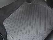 PEUGEOT 308 REAR RUBBER MATS [Hatchback and SW] 1.6 2.0 PETROL & DIESEL