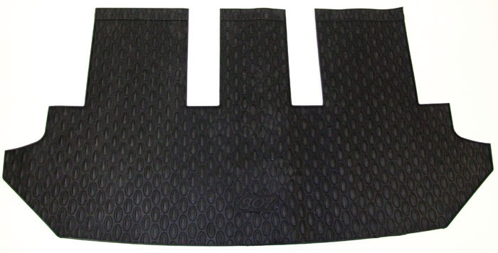 PEUGEOT 807 RUBBER MATS ROW 4 AREA [Not suitable for 6 seat executive SE] MPV