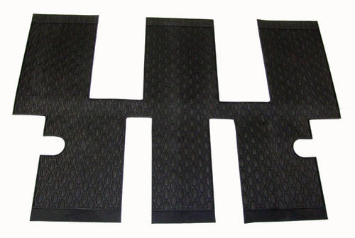 PEUGEOT 807 RUBBER MATS ROW 3 AREA [Not suitable for 6 seat executive SE] MPV Thumbnail 1