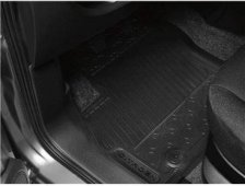 PEUGEOT PARTNER RUBBER MATS [Fits all PARTNER VAN models] VAN GENUINE PEUGEOT
