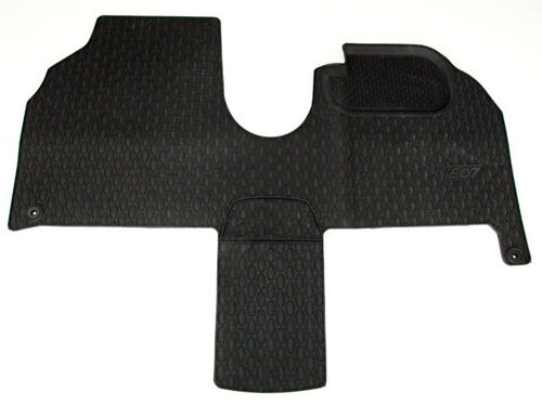 PEUGEOT 807 RUBBER MATS [Fits all 807 models] MPV GENUINE PEUGEOT ACCESSORY ITEM Thumbnail 1