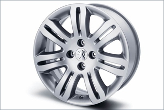 "PEUGEOT 308 SANTIAGUITO 16"" ALLOY WHEEL [Fits all 308 models] 1.4 1.6 TURBO HDI Thumbnail 1"