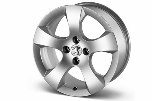"PEUGEOT 3008 SAVARA 17"" ALLOY WHEEL [Fits all 3008 models] 1.6 THP 2.0 HDI NEW! Thumbnail 1"