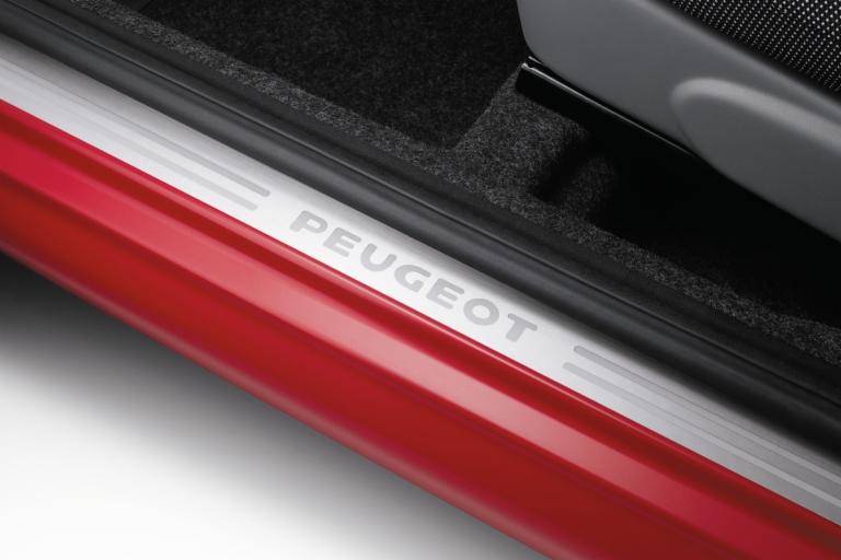 PEUGEOT 107 SILL GUARDS PROTECTORS [3 door models] 1.0 1.4 HDi GENUINE PEUGEOT