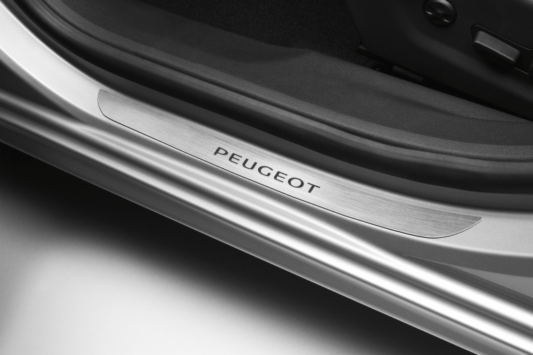 PEUGEOT 508 SILL GUARDS PROTECTORS BRUSHED ALUMINIUM [all 508 ] 1.6 2.0 2.2 HDI
