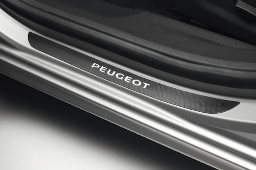 PEUGEOT 508 SILL GUARDS PROTECTORS CARBON EFFECT [all 508 ] 1.6 2.0 2.2 HDI Thumbnail 1