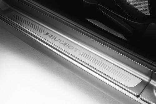 PEUGEOT 207 SILL GUARDS PROTECTORS (2) ALUMINIUM [3dr hatch & CC] GT GTI