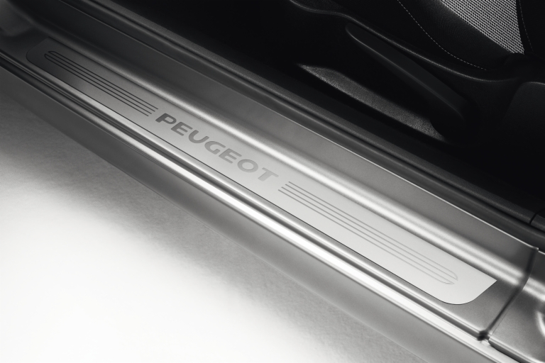 PEUGEOT 207 SILL GUARDS PROTECTORS (4) [5 door hatch & SW ] GT GTI RC THP TURBO