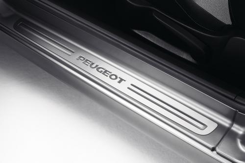 PEUGEOT 207 SILL GUARDS PROTECTORS (2) STAINLESS [3dr hatch & CC] GT GTI RC
