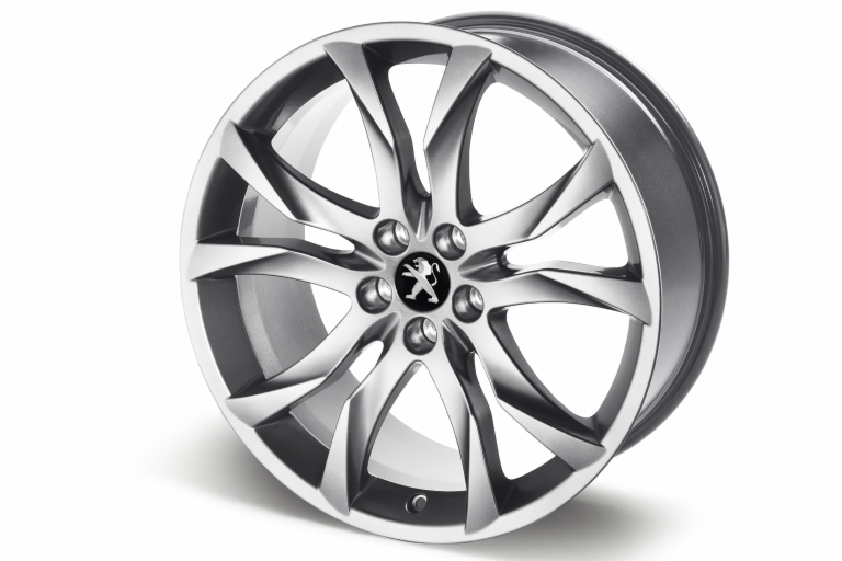 "PEUGEOT RCZ SORTILEGE 19"" ALLOY WHEEL SILVER [Fits all RCZ models]  GENUINE PART"