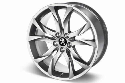 "PEUGEOT RCZ SORTILEGE 19"" ALLOY WHEEL SILVER [Fits all RCZ models]  GENUINE PART Thumbnail 1"