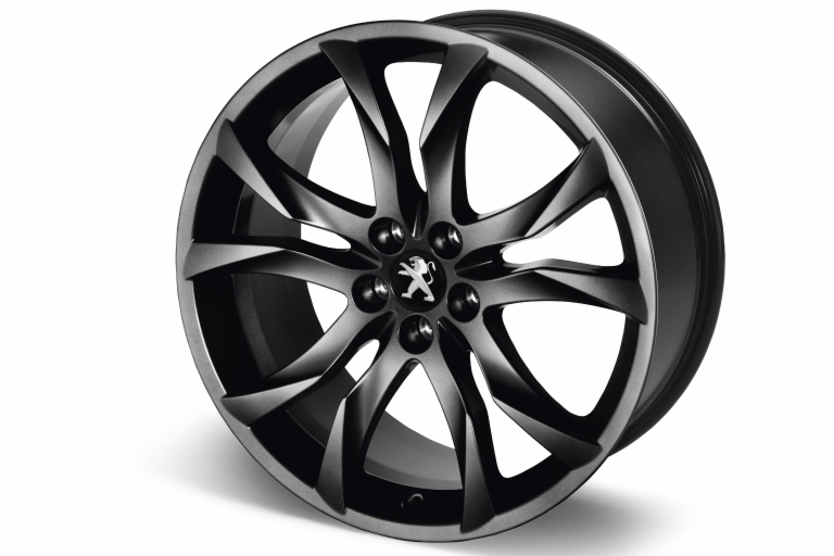 "PEUGEOT RCZ SORTILEGE 19"" ALLOY WHEEL BLACK [Fits all RCZ models]  GENUINE PARTS"