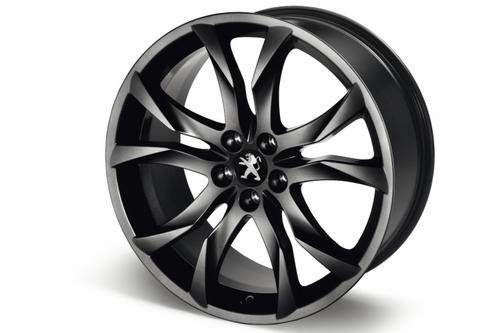"PEUGEOT RCZ SORTILEGE 19"" ALLOY WHEEL BLACK [Fits all RCZ models]  GENUINE PARTS Thumbnail 1"