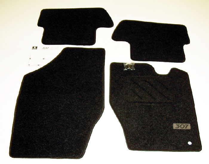 PEUGEOT 307 STANDARD CARPET MATS [Fits all 307 models] 1.6 2.0 16v HDI XSI NEW!