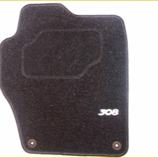 PEUGEOT 308 STANDARD CARPET MATS [Hatchback and SW] 1.6 2.0 PETROL & DIESEL NEW! Thumbnail 1
