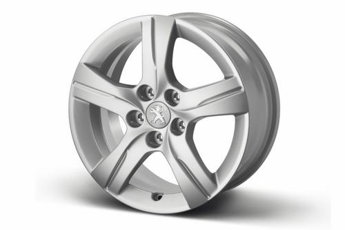 "PEUGEOT 508 STYLE 02 16""ALLOY WHEEL [Fits all 508 models] 1.6 2.0 2.2 HDI NEW! Thumbnail 1"