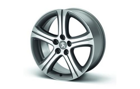 "PEUGEOT 508 STYLE 10 18""ALLOY WHEEL [Fits all 508 models] 1.6 2.0 2.2 HDI NEW!"