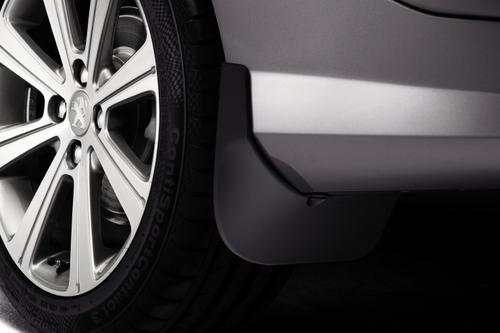 PEUGEOT 308 STYLED MUD FLAPS UNPAINTED [Hatchback] 1.6 2.0 PETROL & DIESEL NEW!