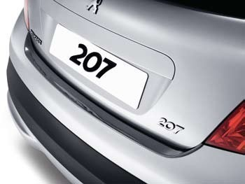 PEUGEOT 207 TAILGATE SILL PROTECTOR [Fits all RESTYLED 207 models]  NEW! Thumbnail 1