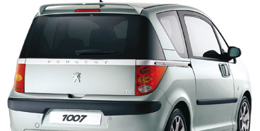 PEUGEOT 1007 TAILGATE SPOILER [Fits all 1007 models] 1.4 1.6 & HDI GENUINE PARTS