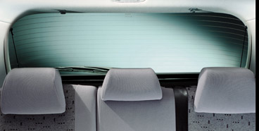 PEUGEOT 307 TAILGATE WINDOW SUNBLIND [3dr & 5dr hatchback] 1.6 2.0 XSI HDI NEW! Thumbnail 1