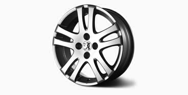 "PEUGEOT 307 TEMPEST 15"" ALLOY WHEEL [Fits all 307 models] 1.6 2.0 16v HDI XSI"