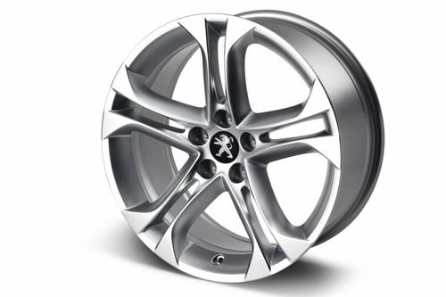 "PEUGEOT RCZ TERRIFIC 18"" ALLOY WHEEL [Fits all RCZ models]  GENUINE PEUGEOT Thumbnail 1"