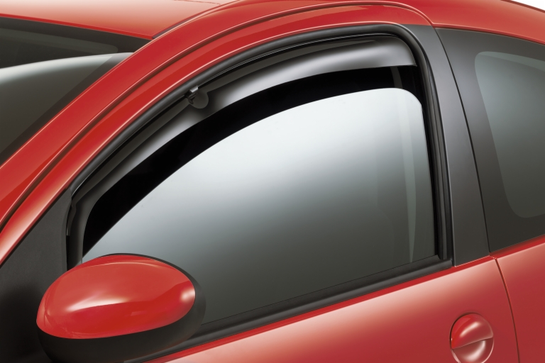 PEUGEOT 107 WIND DEFLECTORS [3 door models] 1.0 1.4 HDi GENUINE PEUGEOT PART!