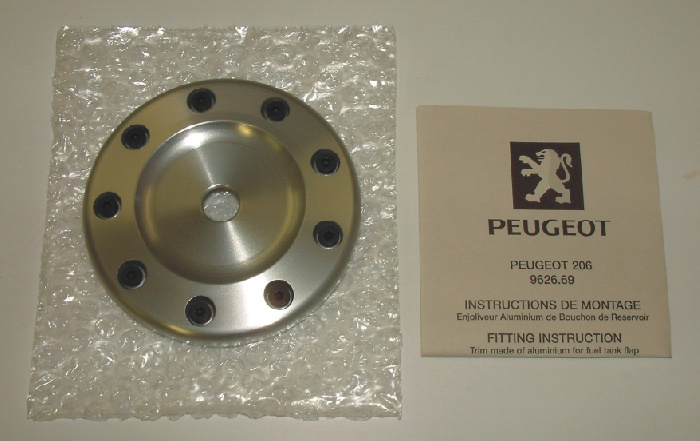 PEUGEOT 206 FUEL FILLER SPORTS CAP [Fits all 206 models] GTI HDI XSI NEW!