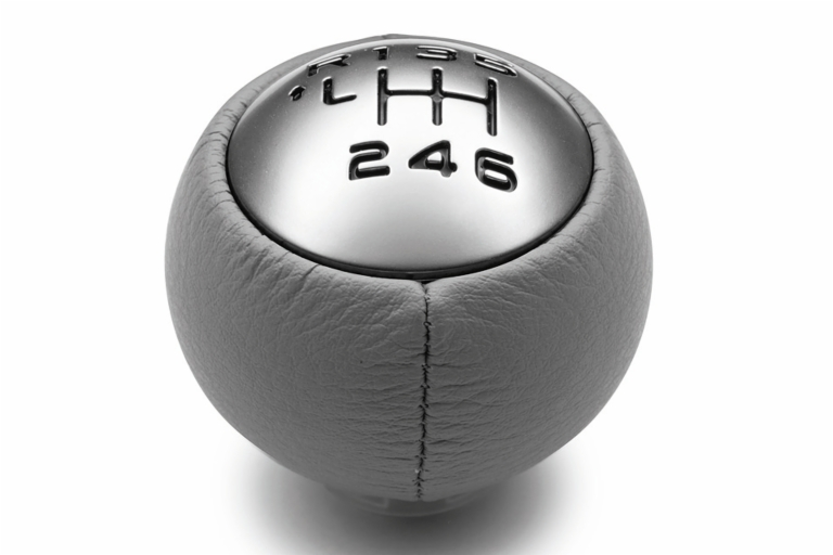 PEUGEOT 308 SPORTS GEAR KNOB GREY/CHROME [all 308 models] 1.4 1.6 TURBO HDI