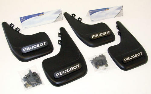 PEUGEOT 807 MUD FLAPS [Fits all 807 models] MPV GENUINE PEUGEOT ACCESSORY ITEM