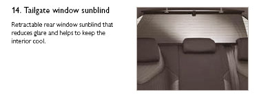 PEUGEOT 308 WINDOW SUN BLINDS [Hatchback] 1.6 2.0 PETROL & DIESEL GENUINE PARTS Thumbnail 1
