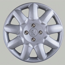 "PEUGEOT 206 PRIMA WHEEL TRIM COVER 14"" LOGO [Fits all 206 models] GTI HDI XSI"