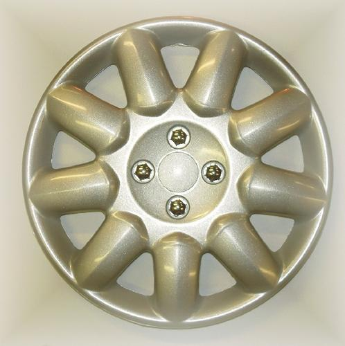 "PEUGEOT 206 PRIMA WHEEL TRIM COVER 14"" NO LOGO [all 206 models] GTI HDI XSI Thumbnail 1"