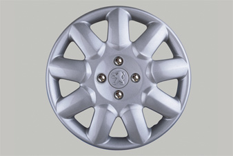 "PEUGEOT 206 PRIMA WHEEL TRIM COVER 15"" NO LOGO [all 206 models] GTI HDI XSI Thumbnail 1"