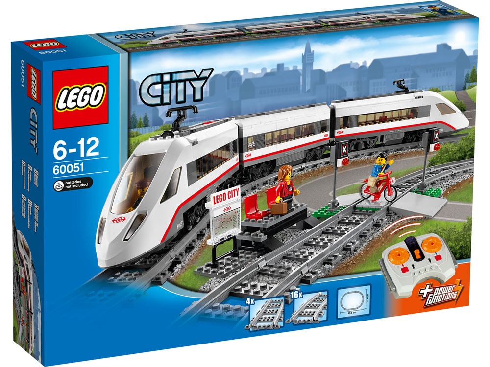60051 LEGO High-Speed Passenger Train CITY TRAINS