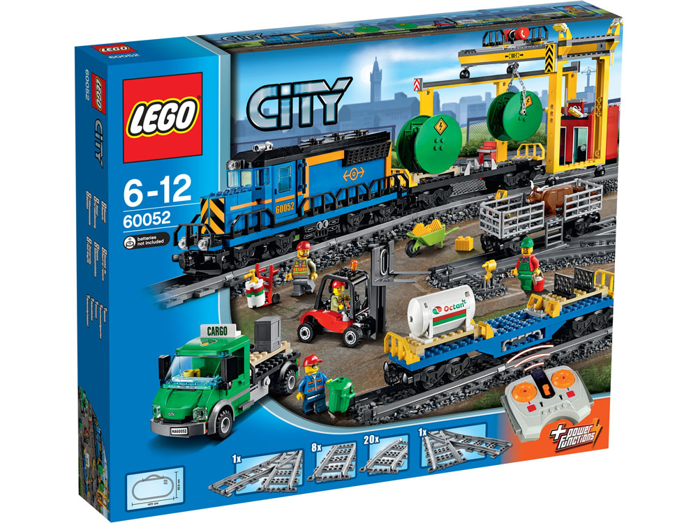 60052 LEGO Cargo Train CITY TRAINS