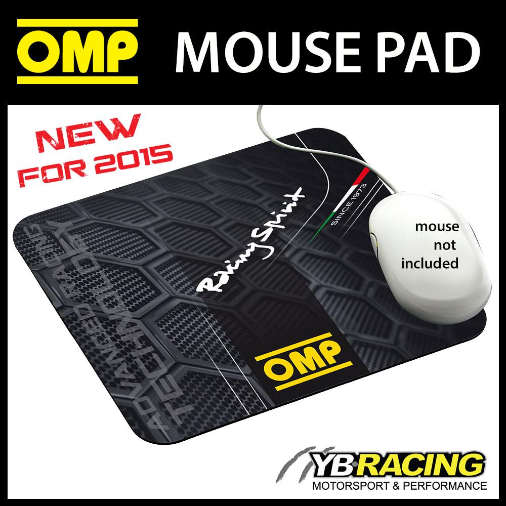 NEW! PR919 OMP RACING SPIRIT DESIGN MOUSEMAT MOUSE PAD BLACK 230x200cm SIZE