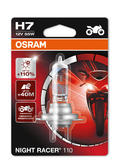 New! Osram H7 Night Racer 110 Motorbike Headlight Bulb ECE (x1) Single Blister