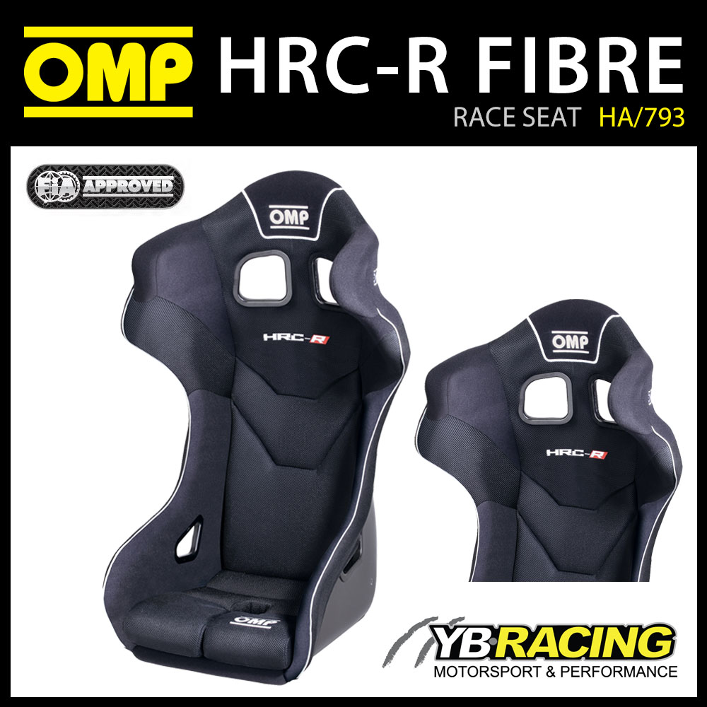 HA/793/N OMP HRC-R GT RACE SEAT FIBREGLASS SHELL WITH FIRE RESISTANT AIRNET