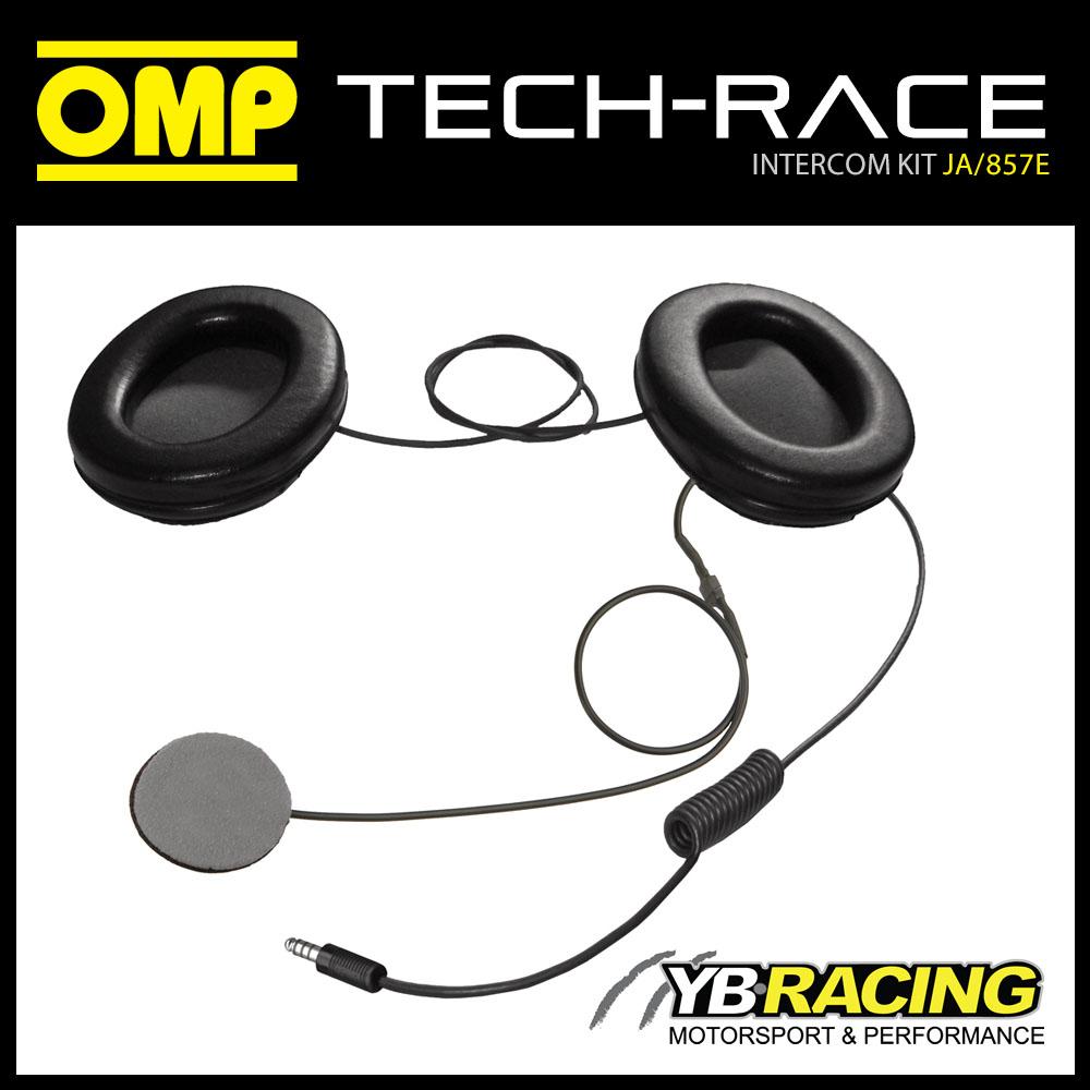 JA/857E OMP INTERCOM MICROPHONE KIT FOR FULL FACE HELMET OMP JA/856E  TECH-RACE