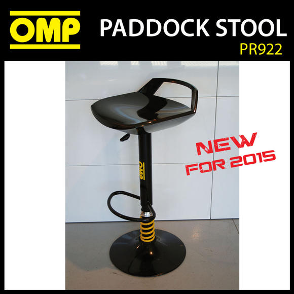 PR220 OMP RACING MOTORSPORT PADDOCK STOOL for PITS / GARAGE / MOTORHOME