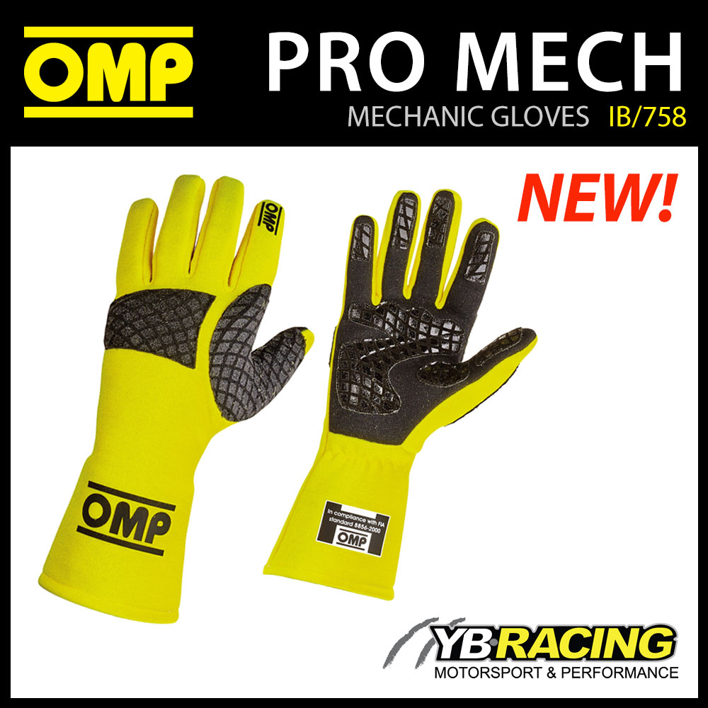 IB/758 PRO-MEC MECHANIC PIT CREW GLOVES