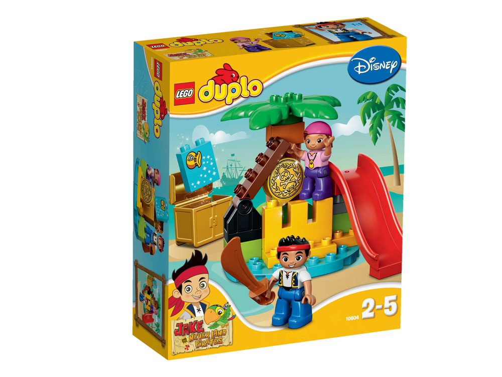 10604 LEGO Jake And The Never Land Pirates Treasure DUPLO JAKE