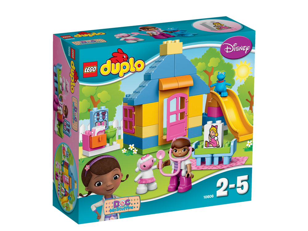 10606 LEGO Doc McStuffins Backyard Clinic DUPLO DOC MCSTUFFINS