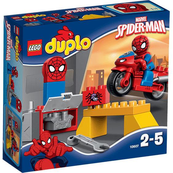 #10607 LEGO Spider-Man Web-Bike Workshop [DUPLO Super Heroes]