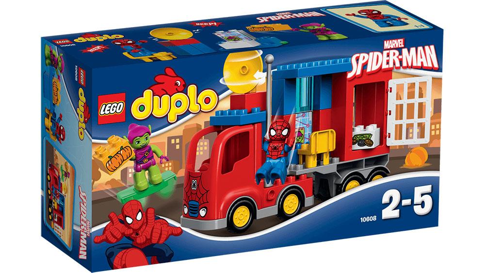 #10608 LEGO Spider-Man Spider Truck Adventure [DUPLO Super Heroes]